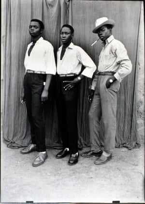 Untitled, 1952-1956 Three smartly dressed men