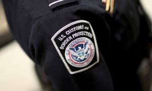 Customs and Border Protection officers waited outside Rosa Maria Hernandez's hospital room while she recovered from surgery.