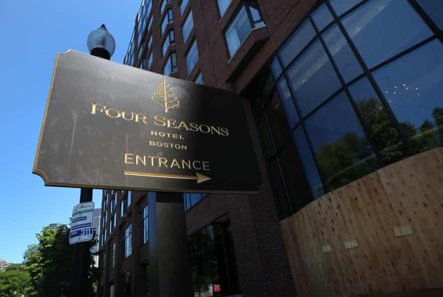 The Four Seasons hotel in Boston has let go many employees. New legislation aims to require hotels to rehire workers by order of seniority.