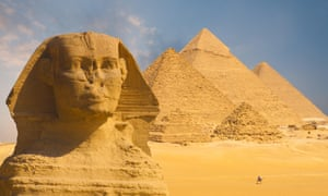 'Already an ancient attraction when the Romans arrived': The Great Sphinx.