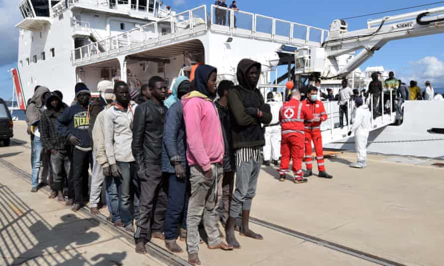 Most of Libya's migrants are not Syrian or Iraqi refugees but people fleeing poverty from all corners of Africa.