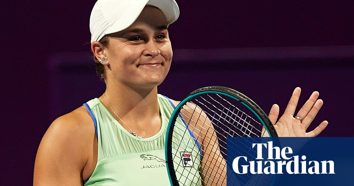 Ashleigh Barty happy to rest up at home while retaining world No 1 status   Tumaini Carayol