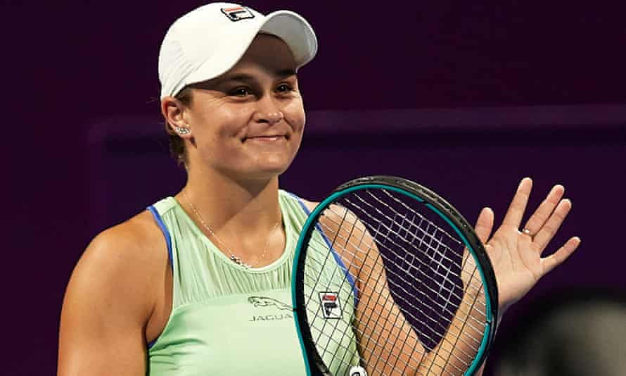 Ashleigh Barty has not played since the Qatar Total Open in February.