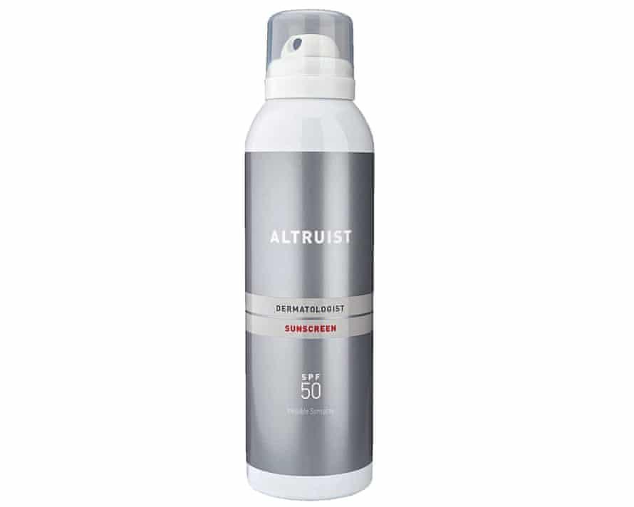Altruist Invisible Sun Spray SPF50