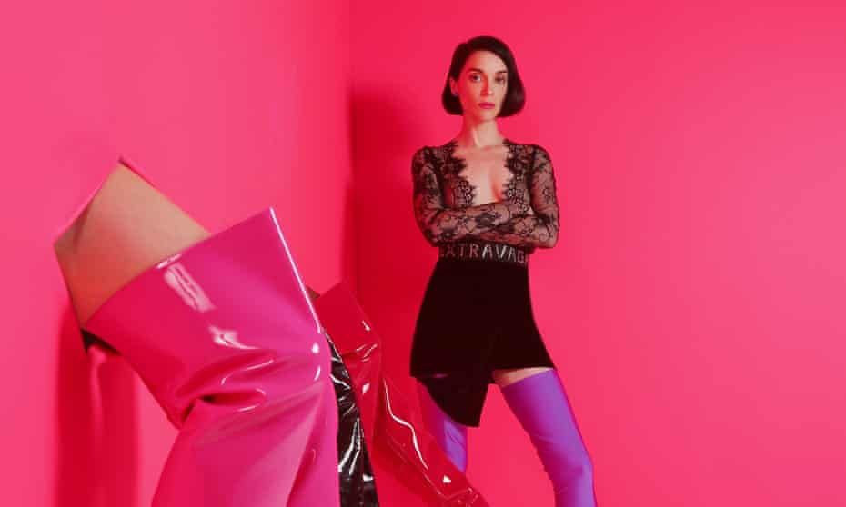 'Sex and drugs and sadness' … St Vincent.