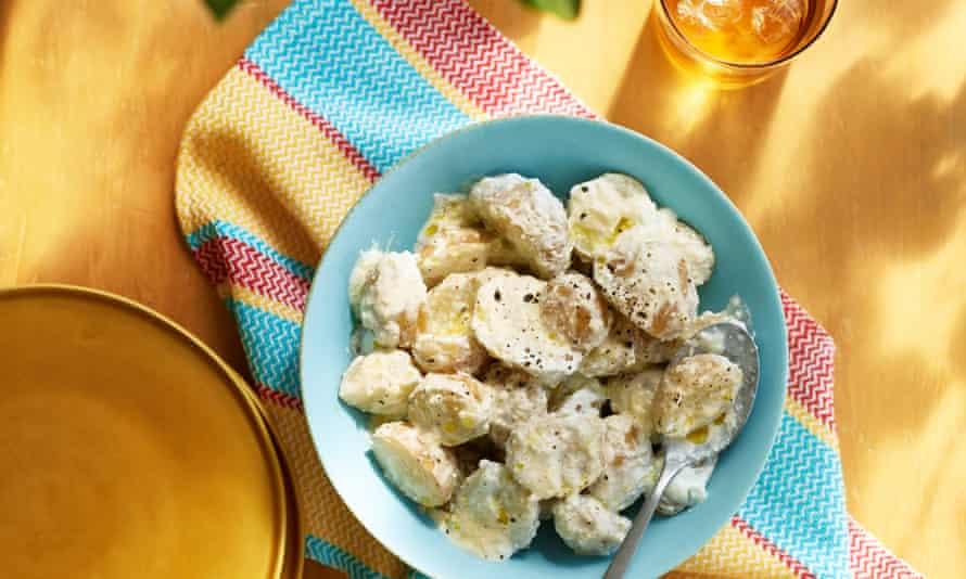 Sweet or tangy potato salad.