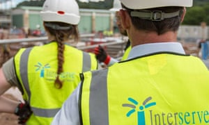 Interserve employs 45,000 people in the UK.