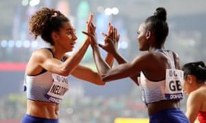 Coming soon: Women's 4X100m relay final.