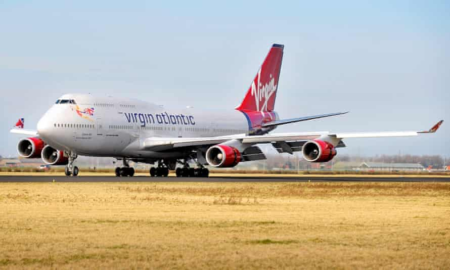 Virgin's 'Cosmic Girl' 747 airliner will become a satellite launch platform, says Richard Branson