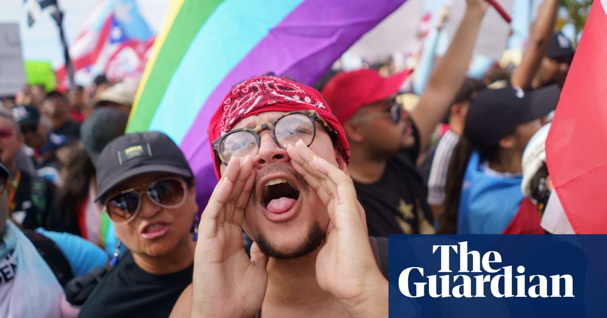 Puerto Rico: thousands flood streets in push to oust governor – in pictures