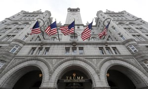 The Trump International Hotel at 1100 Pennsylvania Avenue NW, in Washington, DC.