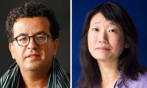 Fiction and fact … Folio prize shortlistees Hisham Matar and Madeleine Thien.