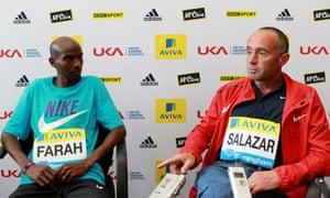 Mo Farah and Alberto Salazar
