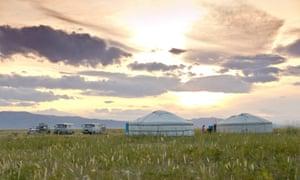 Mongolian nomad ger, White Lake Valley.
