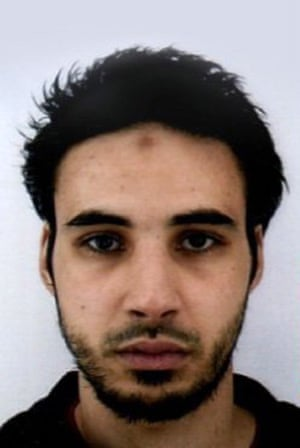 The photograph of Chekatt handed out by French police.