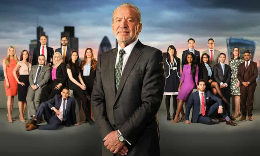 Cheques and the City: the Apprentice series 13 entrants with Alan Sugar.