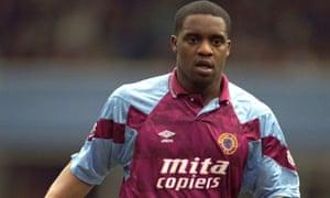 Dalian Atkinson during his time at Aston Villa