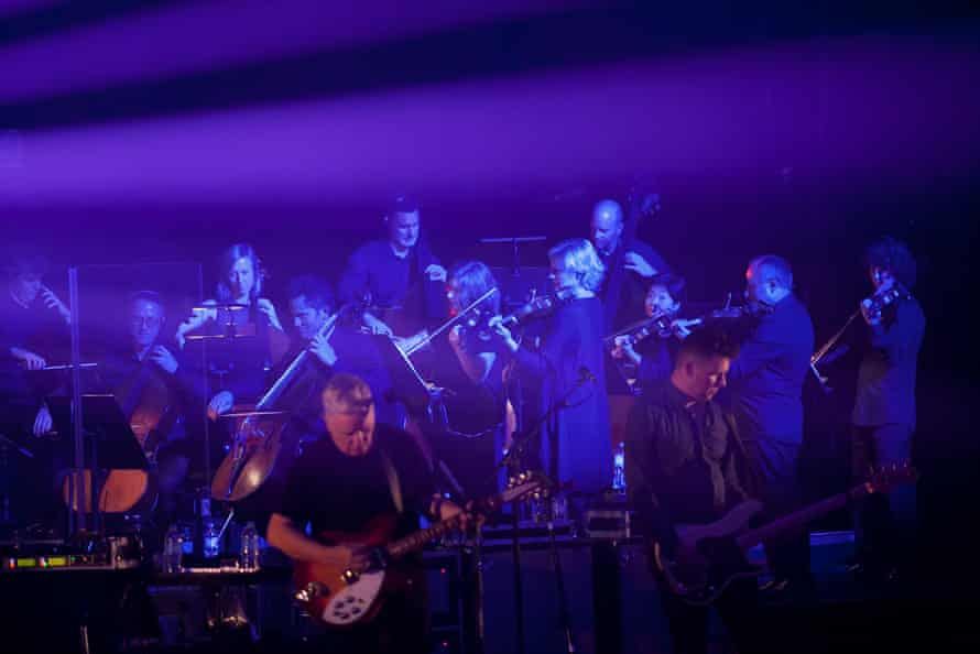 The Australian Chamber Orchestra with New Order at Sydney Opera House.