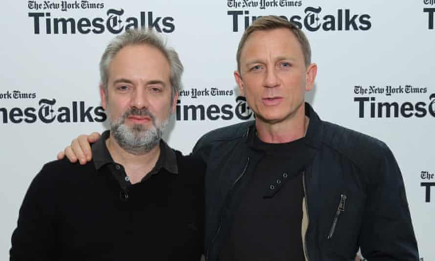 Sam Mendes and Daniel Craig in New York this week.