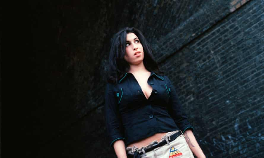 Tragically disconnected … Amy Winehouse.