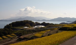 Benesse Art Site Naoshima blends in with the surrounding landscape.