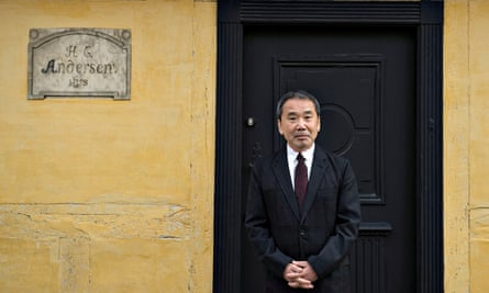 'Scatters ideas and references like windblown seeds': Haruki Murakami outside Hans Christian Andersen's house in Odense, Denmark