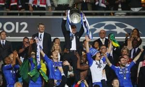 Roberto Di Matteo's brief Chelsea tenure included a remarkable Champions League success.