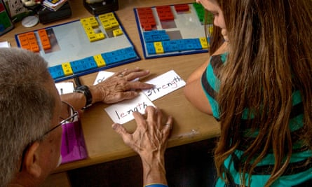 Testing for dyslexia. Toby Withers's documentary studied how different languages posed different problems for learners.