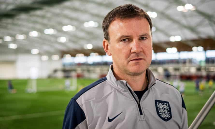 Jamie Robinson, the FA's head of youth elite coaching, runs the governing body's AYA course