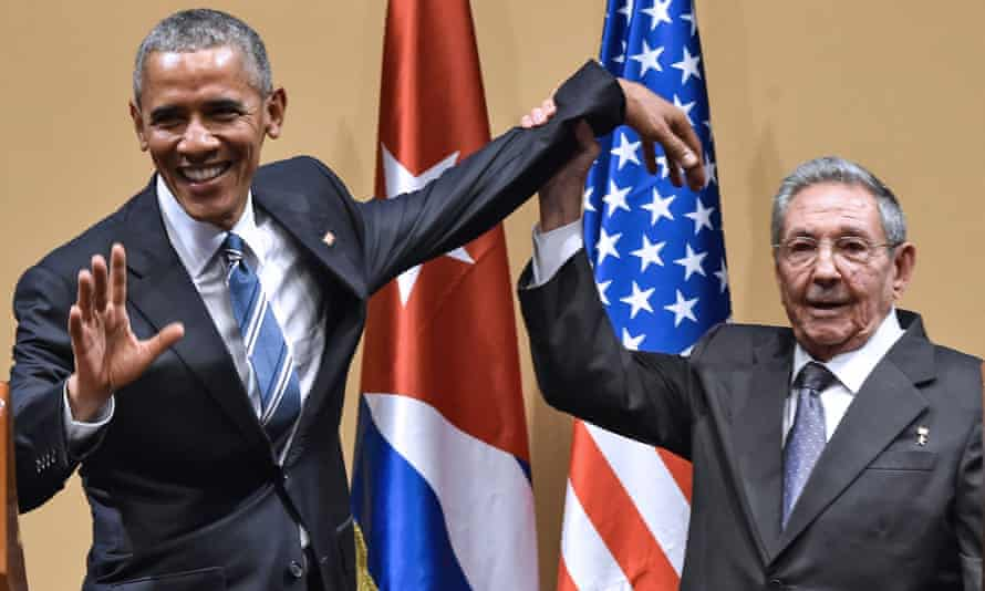 It's a knockout … but who won? Barack Obama and Raúl Castro send a mixed message about who did better out of the US president's historic visit to Cuba.