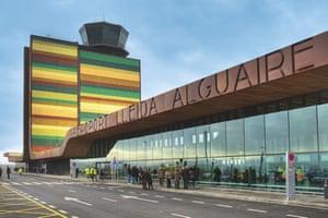 Lleida-Alguaire airport, Lleida, Spainfd