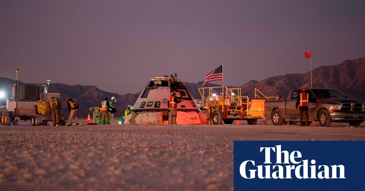 Boeing's Starliner capsule lands safely in New Mexico after failed mission