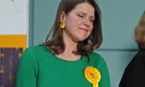 Down and out: Jo Swinson ponders career moves after losing her seat in East Dumbartonshire.