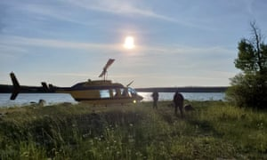 Royal Canadian Mounted Police have been using air support in the search for fugitive teens Kam McLeod and Bryer Schmegelsky, who are wanted for murder in Manitoba.