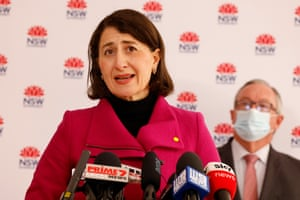 NSW Premier Gladys Berejiklian speaks during a COVID-19 update press conference on July 22, 2021 in Sydney
