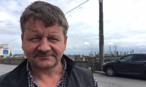 Martin Kelly, a contractor who does work at Trump's golf resort in Doonbeg