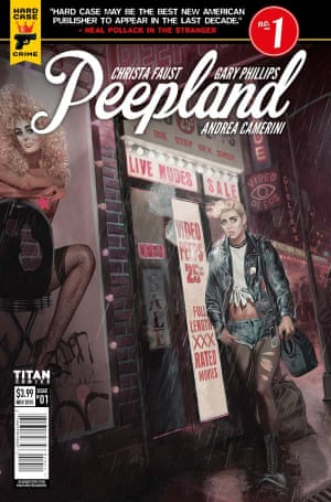 Peepland: taking readers back to the sleaze of 80s Times Square