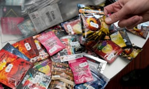 A range of new psychoactive substances.