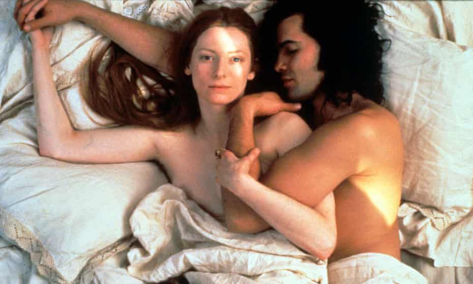 Tilda Swinton's second appearance on the list … with Billy Zane in Orlando.
