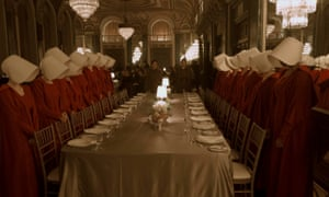 The hypocrisy of the trade dinner is total … The Handmaid's Tale.