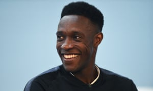 These are happier times for Danny Welbeck, who required knee surgery before the European Championship