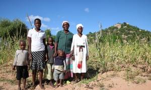 The Mashango family in the Buhera district of Zimbabwe