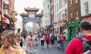 London's Chinatown.