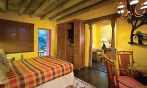 A room at El Monte Sagrado, Taos, New Mexico