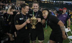 Richie McCaw, Dan Carter and Ma'a Nonu were in splendid form for New Zealand in their historic World Cup final win.