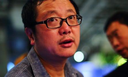 Liu Cixin.