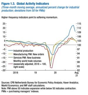 IMF global activity indicators