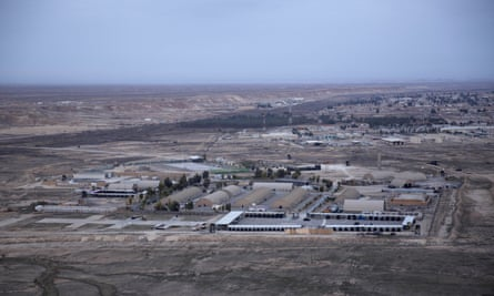 Al-Asad airbase, pictured before the attack