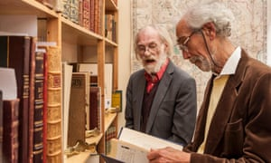 Buyers at the London international antiquarian book fair at Kensington Olympia. The Antiquarian Booksellers Association, which runs the fair, has decided not to renew its sponsorship agreement with Abebooks after it announced it is dropping support in four countries.