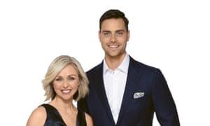 Your Money Live anchors Brooke Corte and Chris Kohler.